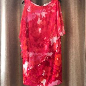 NWOT. Studio one pretty red dress